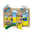Australian-made wooden puzzle, featuring artwork of a family bbq on the beach during Australia Day. Designed for childcare.