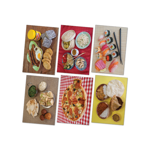 Food from the World Poster Kit