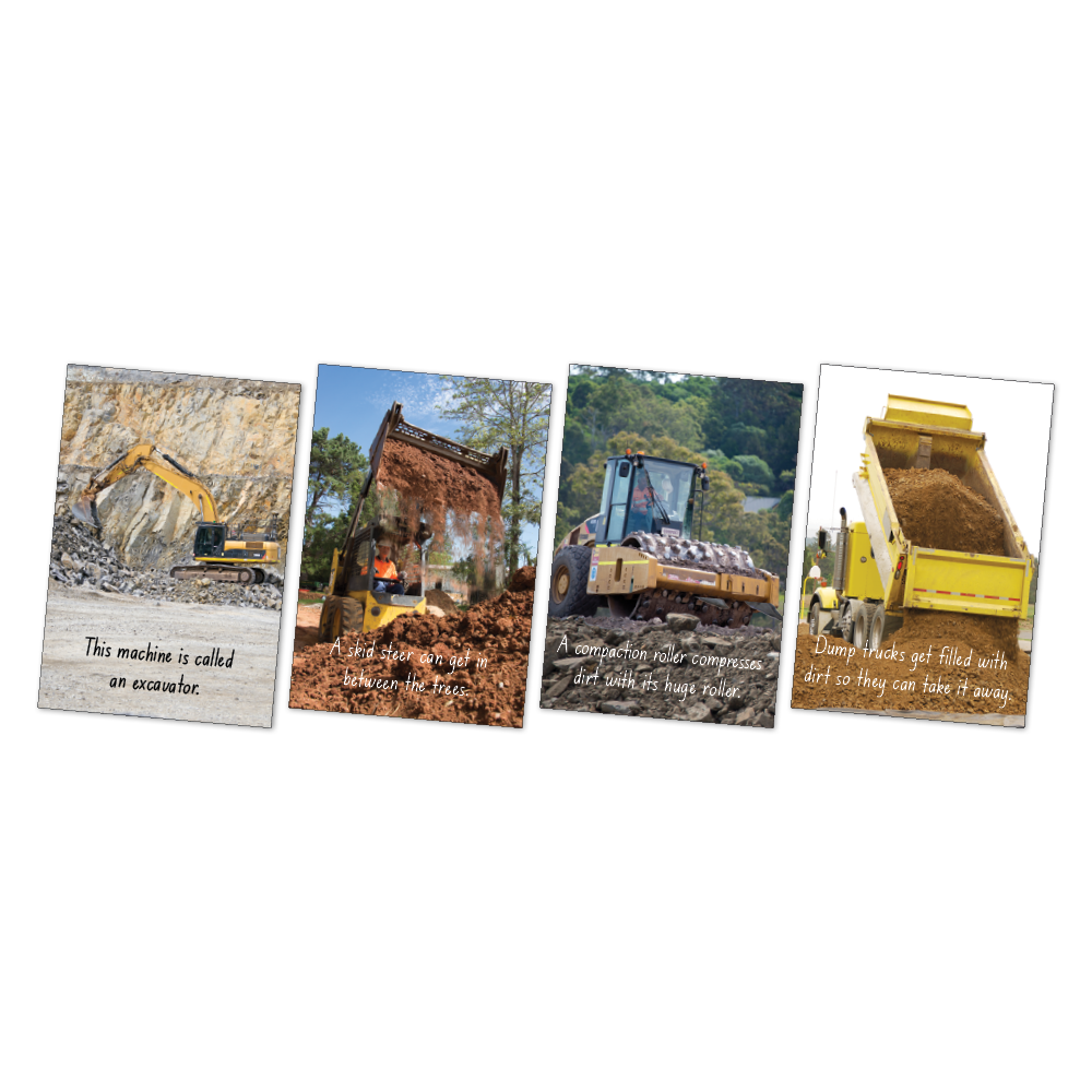 Large Diggers Poster Kit