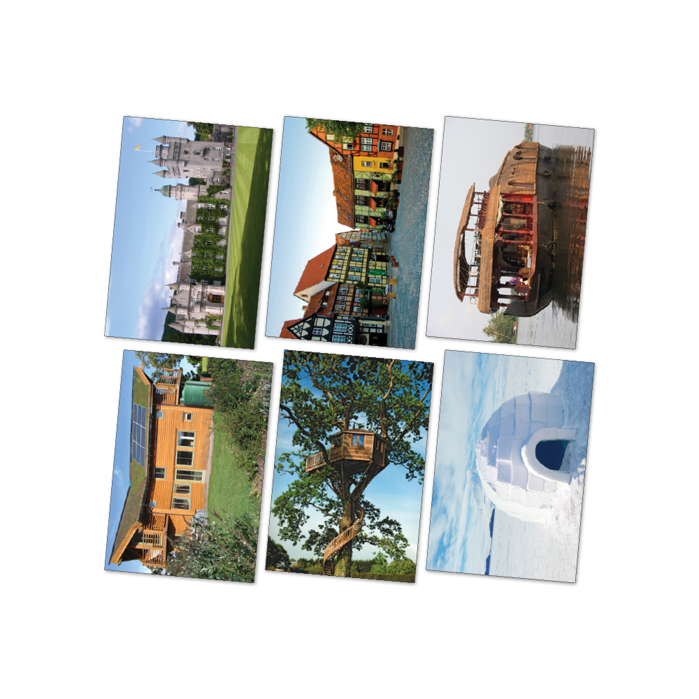 Houses around the World Poster Kit