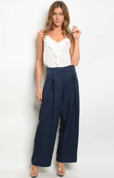 Tabbi pants in Navy