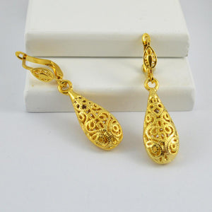 Gold Vintage Drop Earrings