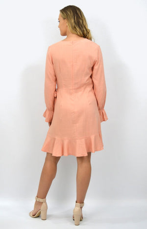 Kristy dress in Apricot