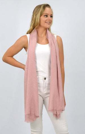 Dusty Pink Scarf