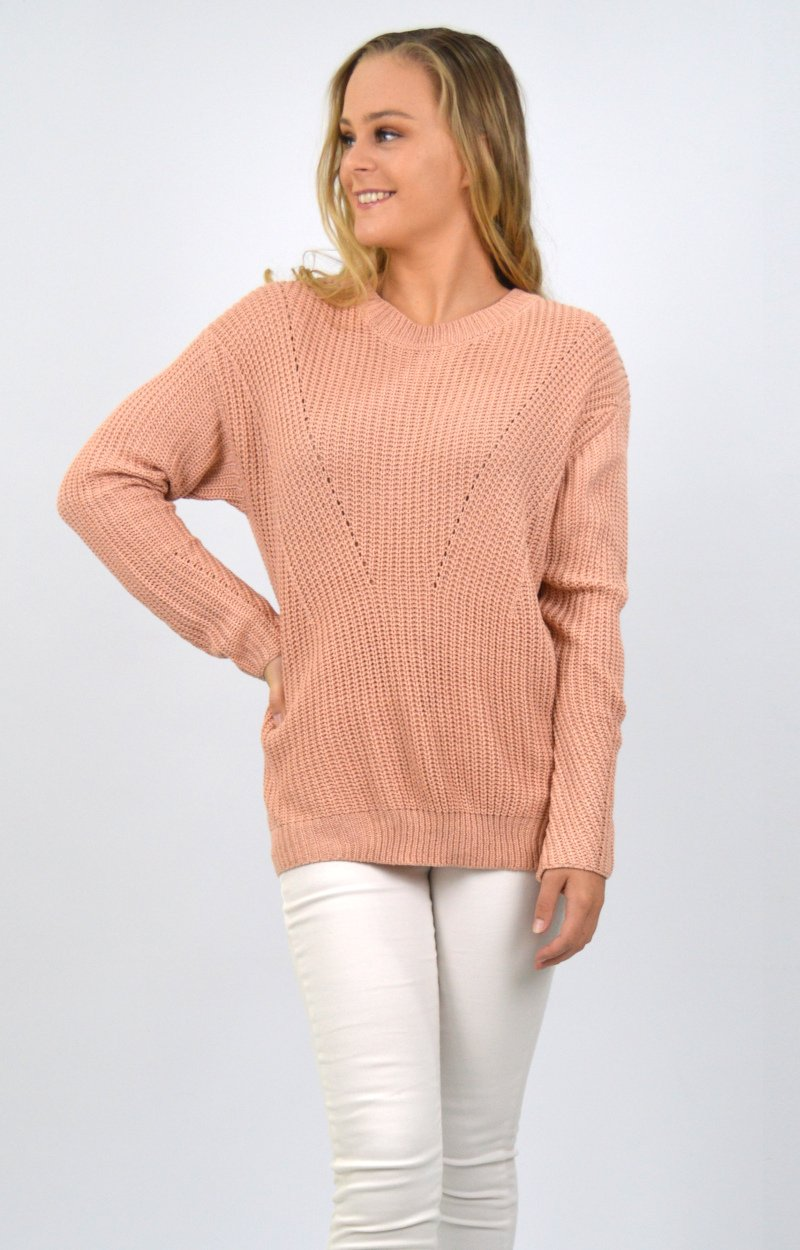 Marnie Top in Peach
