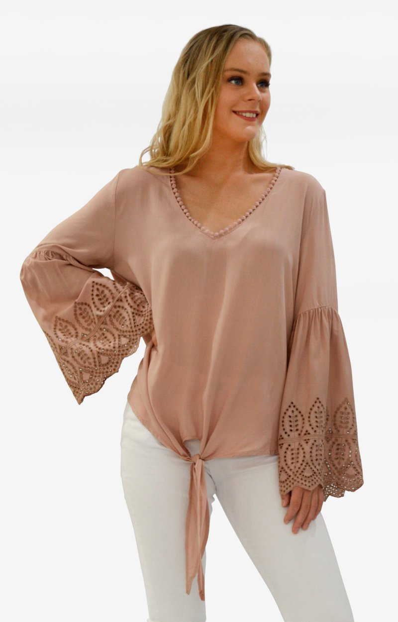 Polly Top in Mushroom