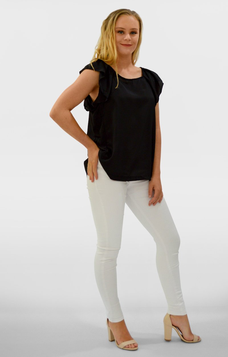 Briony Top in Black