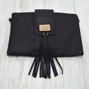 Gabbie Clutch in Black