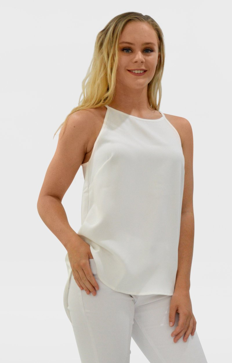 Maive Top in White
