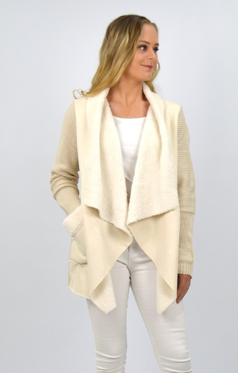 Remi Cardigan in Cream