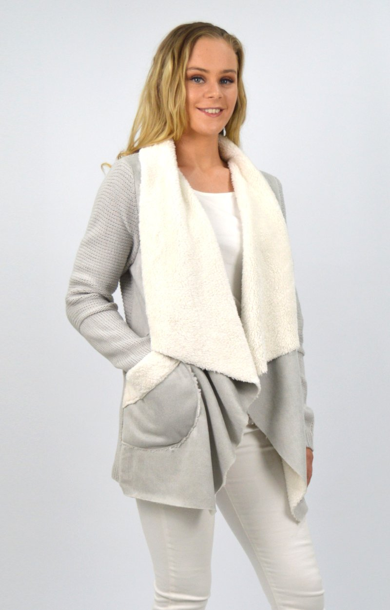 Remi Cardigan in Grey