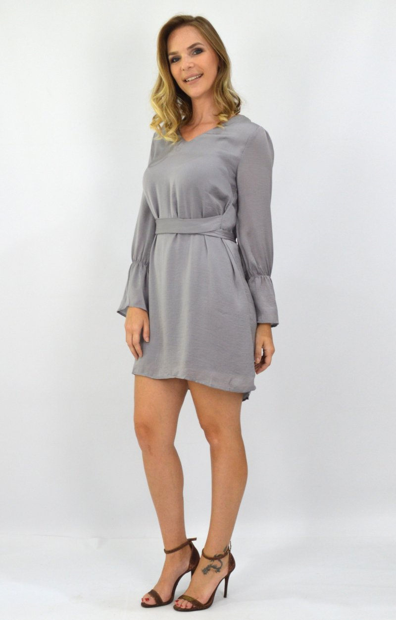 Analise Dress in Grey