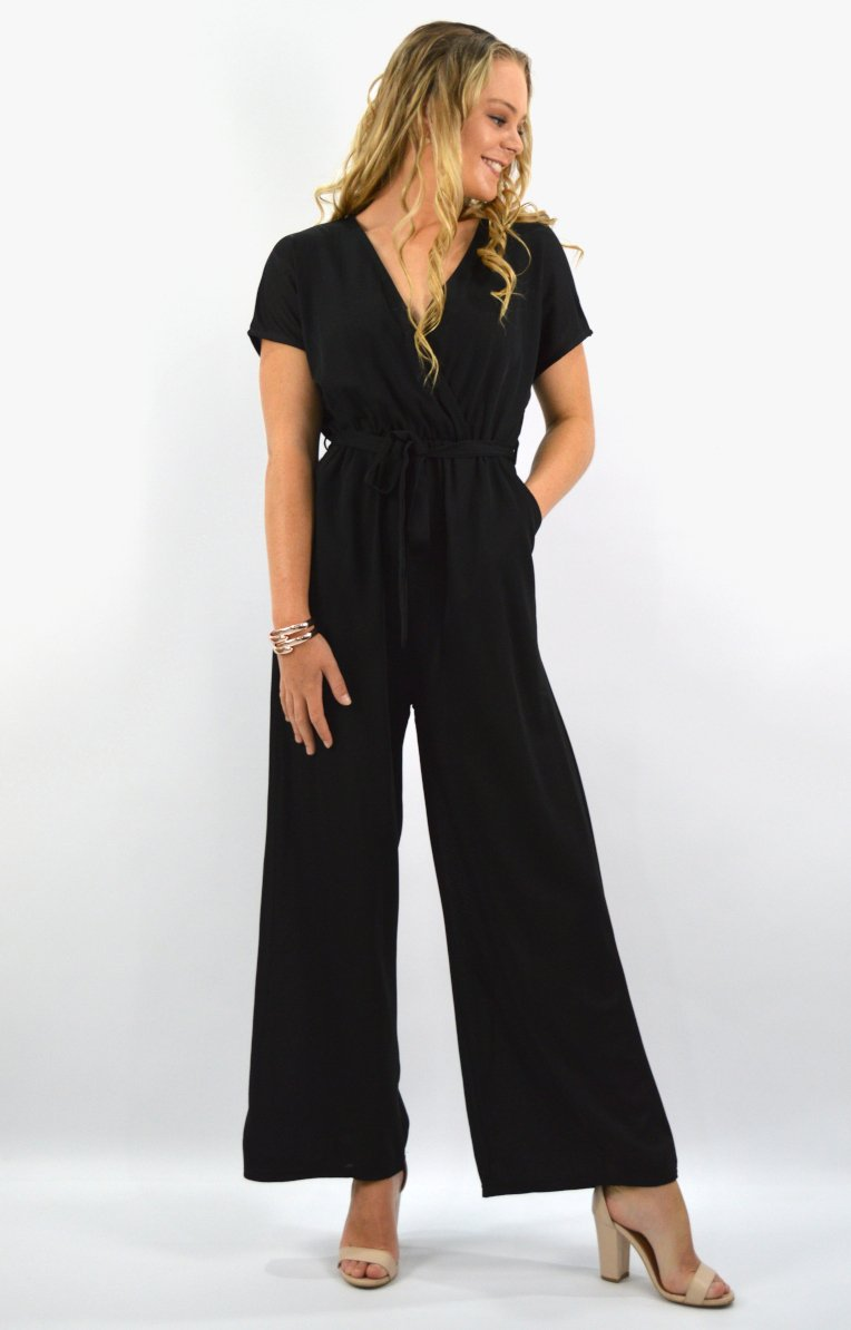 Toledo jumpsuit in black