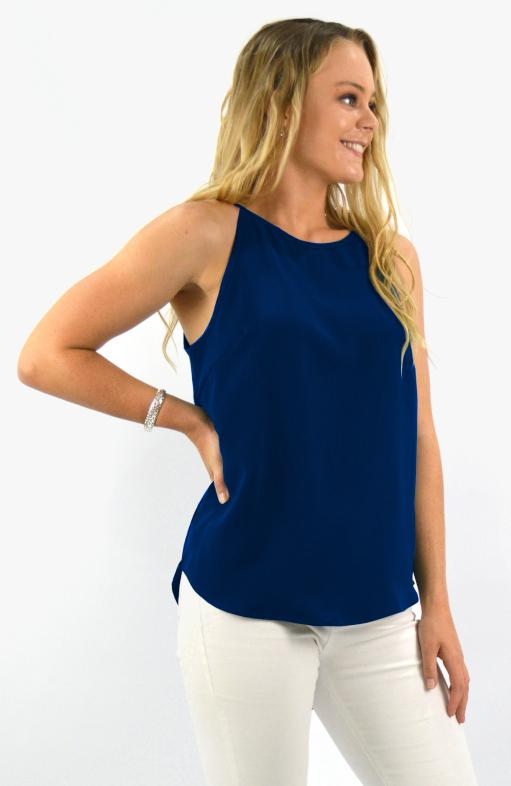 Maive Top in Navy