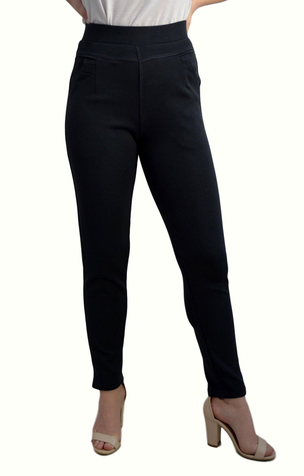 Electra Straight Pant in black