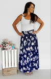 Georgia skirt in navy