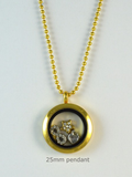 Gold Memory Locket Pendant