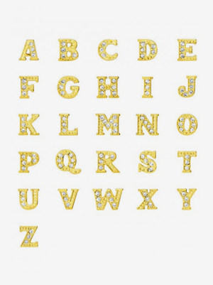 Gold Crystal Letters