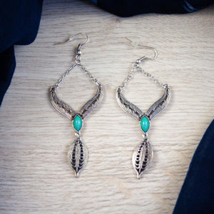 Bella Silver Vintage Earrings