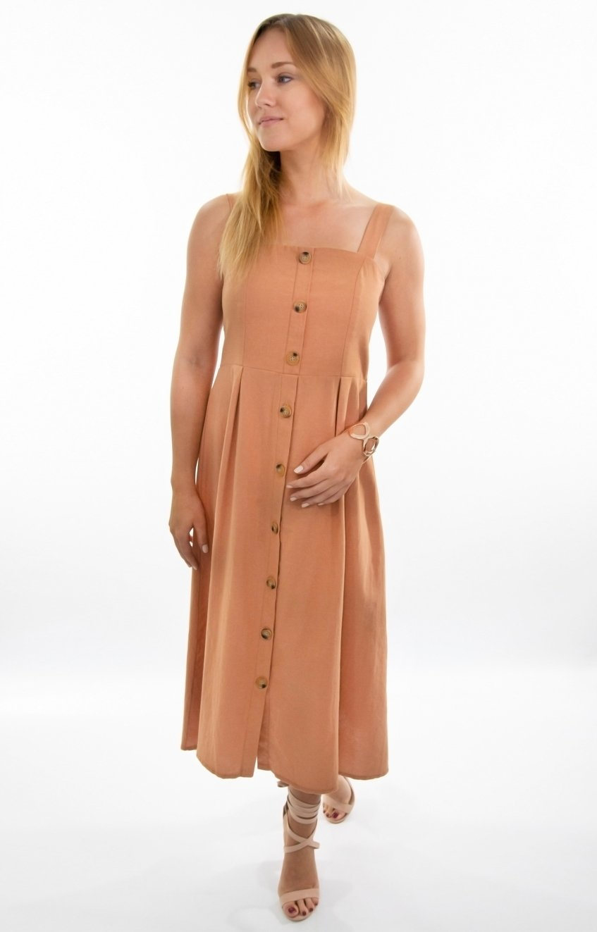 Bailey dress in Caramel