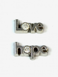 Love / Hope Word Charms