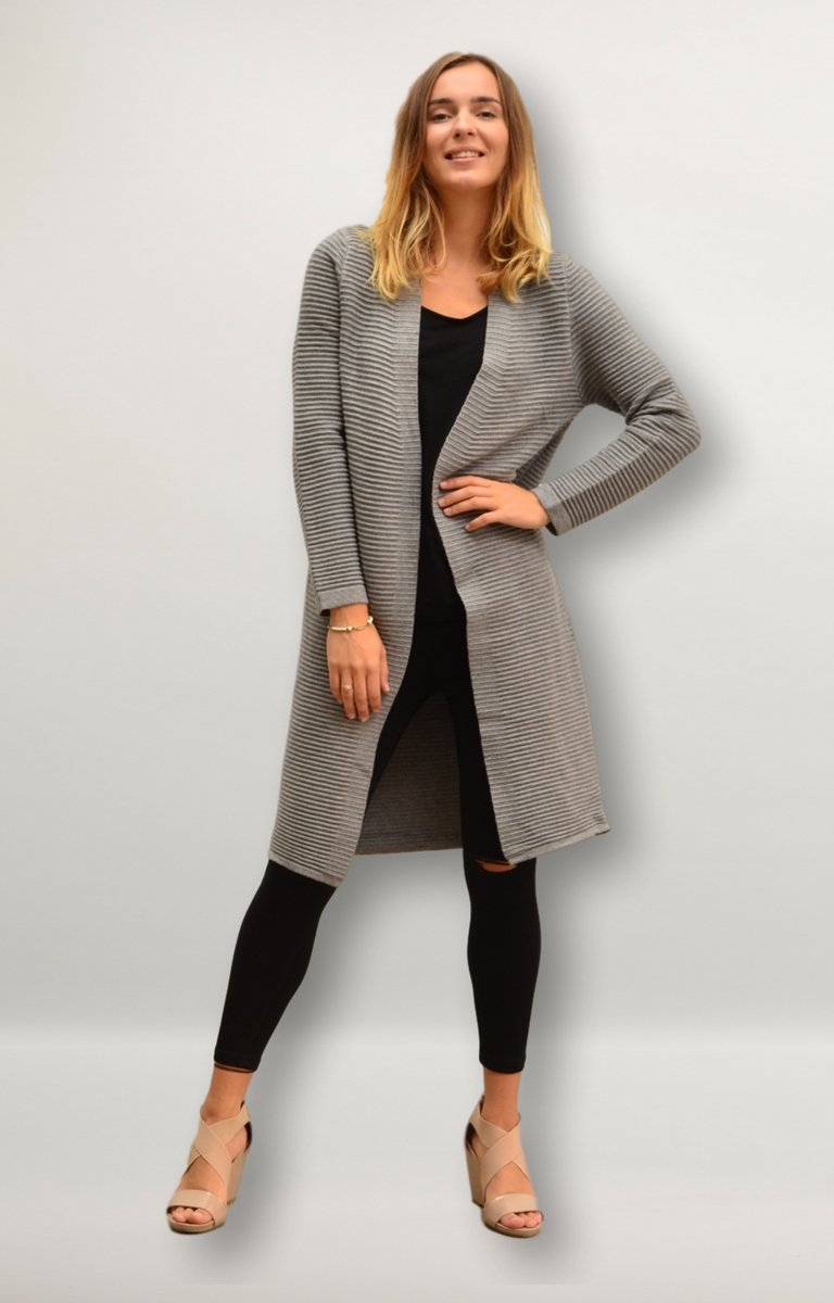 Arissa Cardigan in Grey