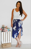 Riley Skirt in Navy