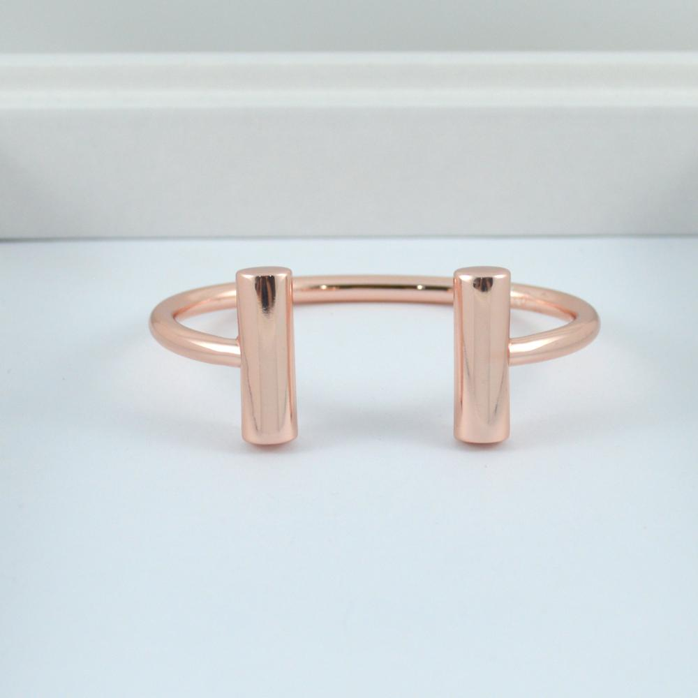 Rose Gold Bracelet with Bars