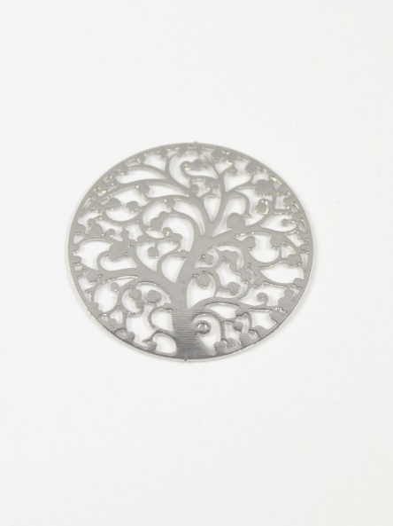 Silver Tree of Life Backing Plate