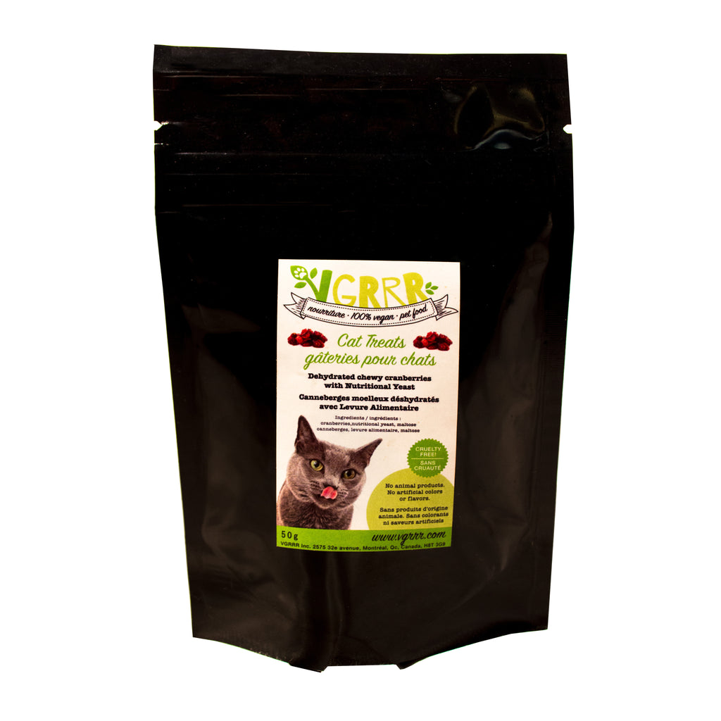 VGRRR Nutri-Yeast Cranberry Treats for Cats and Dogs