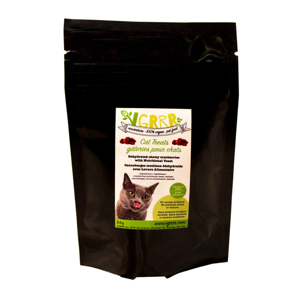 VGRRR Nutri-Yeast Cranberry Treats - Cats and Dogs