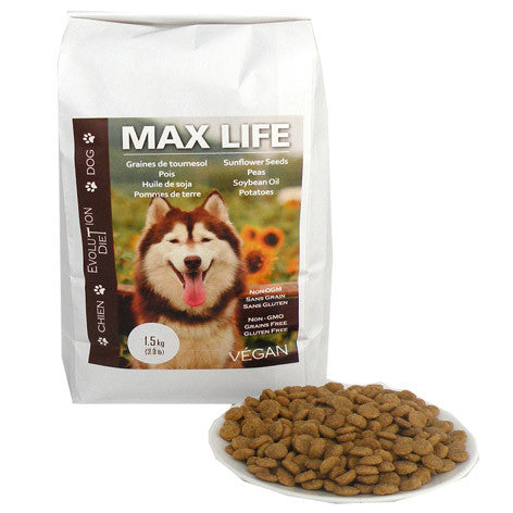 Evolution Diet - Max Life - Vegan Dog Kibble