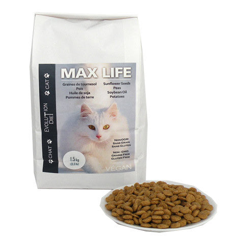 Maximum Life - Vegan Cat Kibble