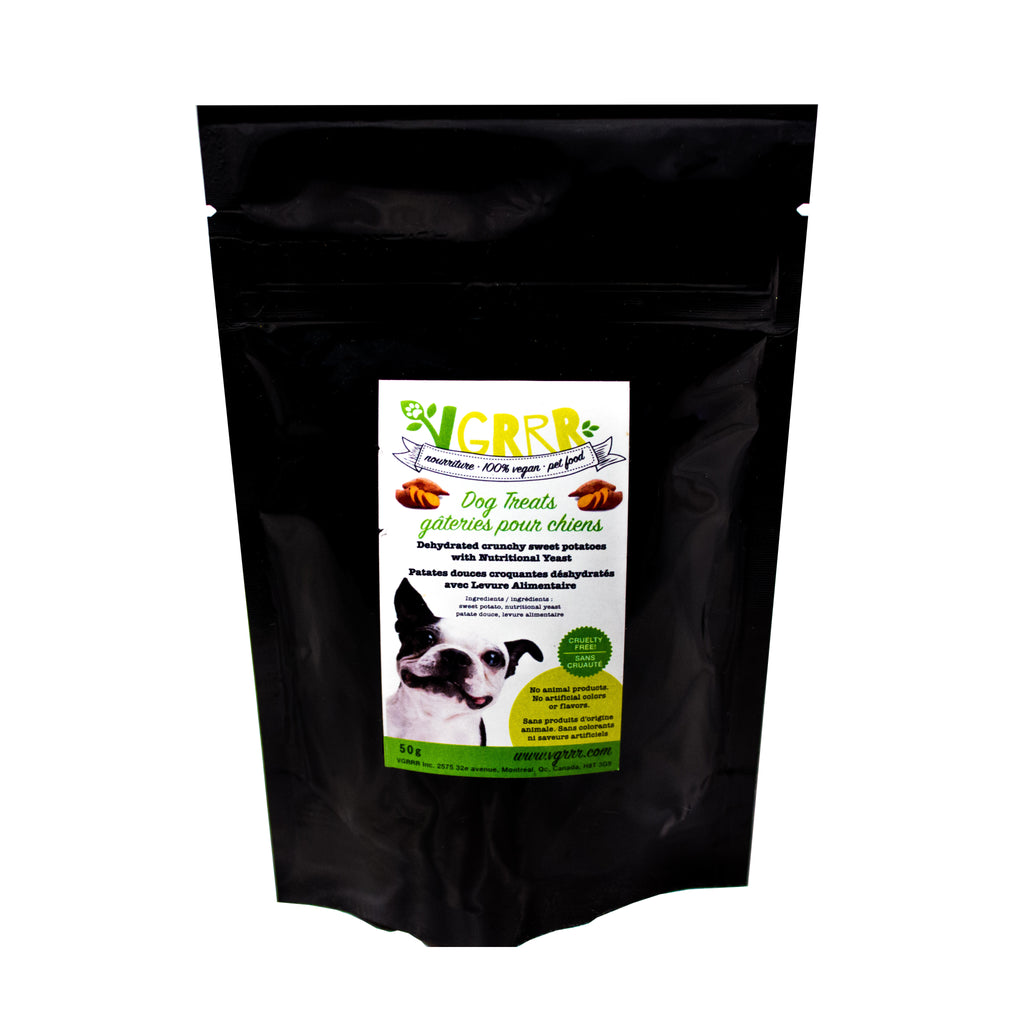 VGRRR Nutri-Yeast Sweet Potato Treats for Dogs