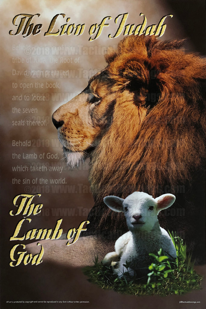 The Lion of Judah, the Lamb of God