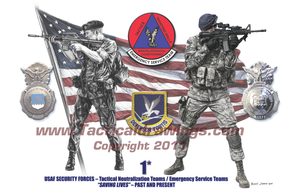 United States Air Force Security Forces EST/TNT – Past and PresentUSAF-SF-EST