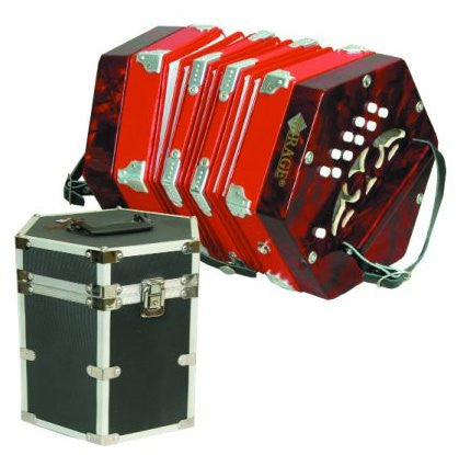 Mirage C7001 20 Button Concertina Accordion Free Shipping - Musical Instruments - Fits My Budget