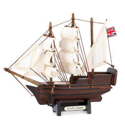 Mini Mayflower Ship Model 10014750 Free Shipping - House Home & Office - Fits My Budget