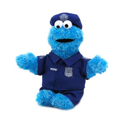 "Sesame Street 10014952 Cookie Monster Cookie Monster 13"" Plush Free Shipping - Toys & Novelties - Fits My Budget"