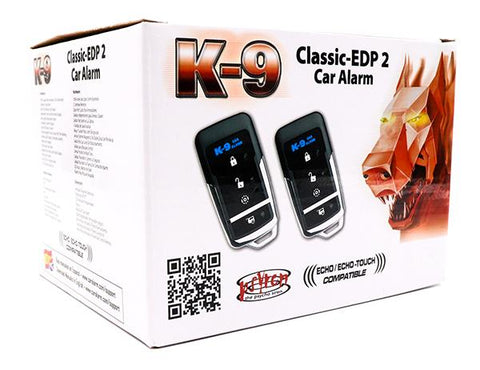 Omega K9CLASSICEDP K9 Car Alarm with 2 Way Pager Option