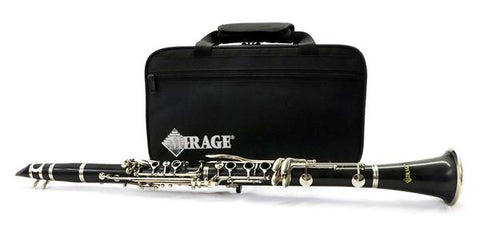 Student Clarinet Mirage Ebonite Bb  FREE SHIPPING