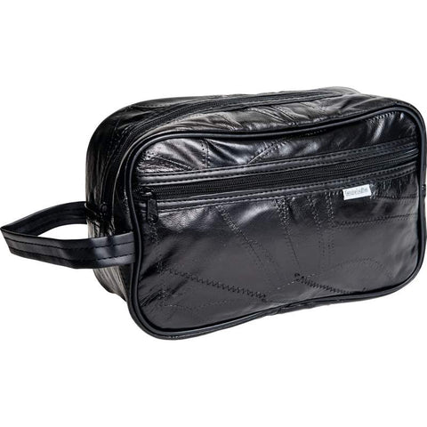Embassy Personal Travel Bag Shaving Kit Bag Leather Free Shipping