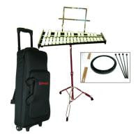 Mirage GPBK1 Musical Bell Kit with rolling bag