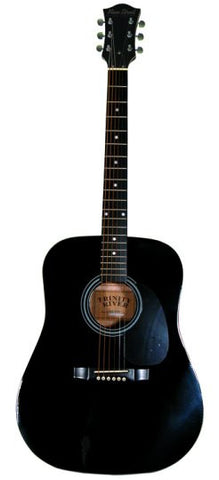 Main Street Black Dreadnought Acoustic Guitar MA241 - Musical Instruments - Fits My Budget