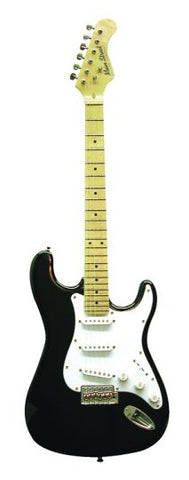 Main Street Double Cutaway Electric Guitar in Black MEDCBK - Musical Instruments - Fits My Budget