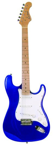 Main Street Double Cutaway Electric Guitar in Blue MEDCBL - Musical Instruments - Fits My Budget