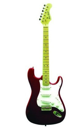 Main Street Double Cutaway Guitar in Candy Apple Red MEDCRD - Musical Instruments - Fits My Budget
