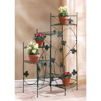Ivy-Design Staircase Plant Stand 10034764 Free Shipping - House Home & Office - Fits My Budget