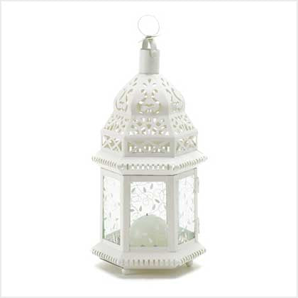 Ivory Moroccan Lantern Wedding Lantern 10038465 - House Home & Office - Fits My Budget
