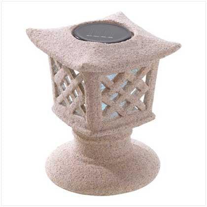Pagoda Solar Light Lantern 10038992 Free Shipping - House Home & Office - Fits My Budget